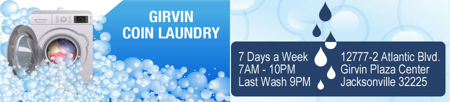 Garvin Coin Laundromat - Self-Serve Laundry - Jacksonville, Florida